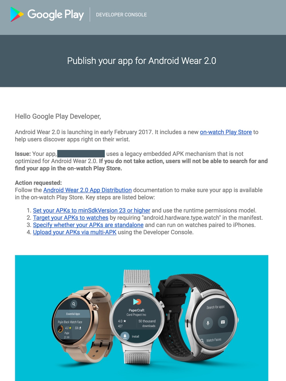 Android Wear 2.0 Launch in Early February 2017