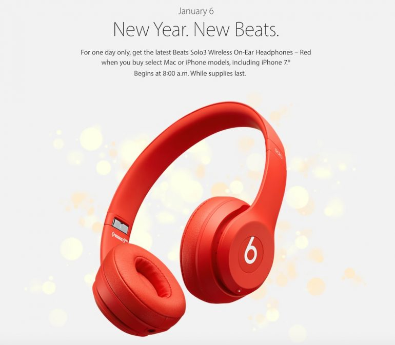 Apple Celebrates Chinese New Year With Free Beats Solo3 Headphones