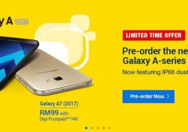 Digi Samsung Galaxy A Series 2017 Preorder