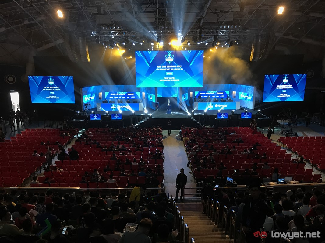 Sights And Scenes: Malaysia's Largest Dota 2 Tournament - ESL One