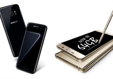 GS7 edge Black Pearl_Note-5-64GB-128GB