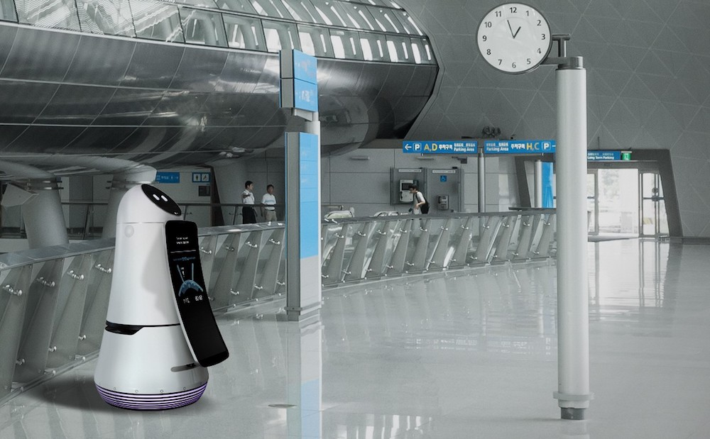 LG-Airport-Guide-Robot