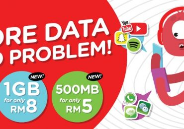 Tune Talk Data Day Pass 1GB for RM8 and 500MB for RM5