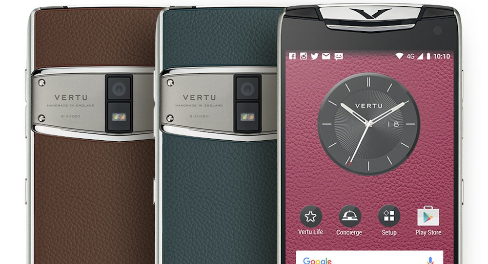 Vertu Sells its Phone Business