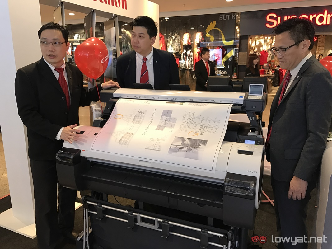 Color printing lowyat - Canon Malaysia 30th Anniversary Product Showcase 28