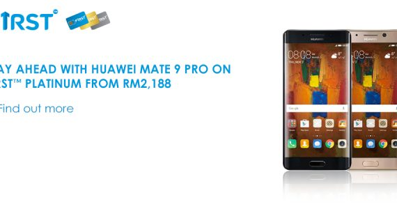Celcom Now Offering Huawei Mate 9 Pro from RM2,188