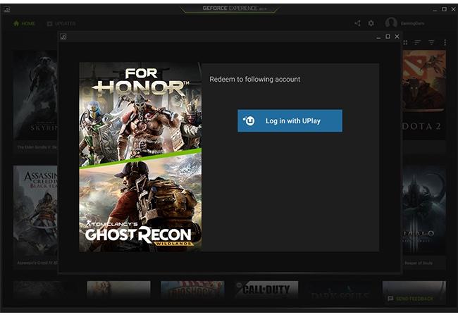 Nvidia game redeem