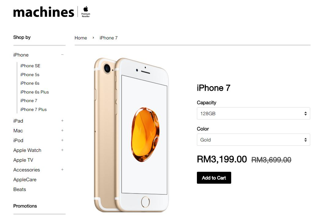 Stores Drop Price Of Apple Iphone 7 And 7 Plus By Rm500 Lowyat Net