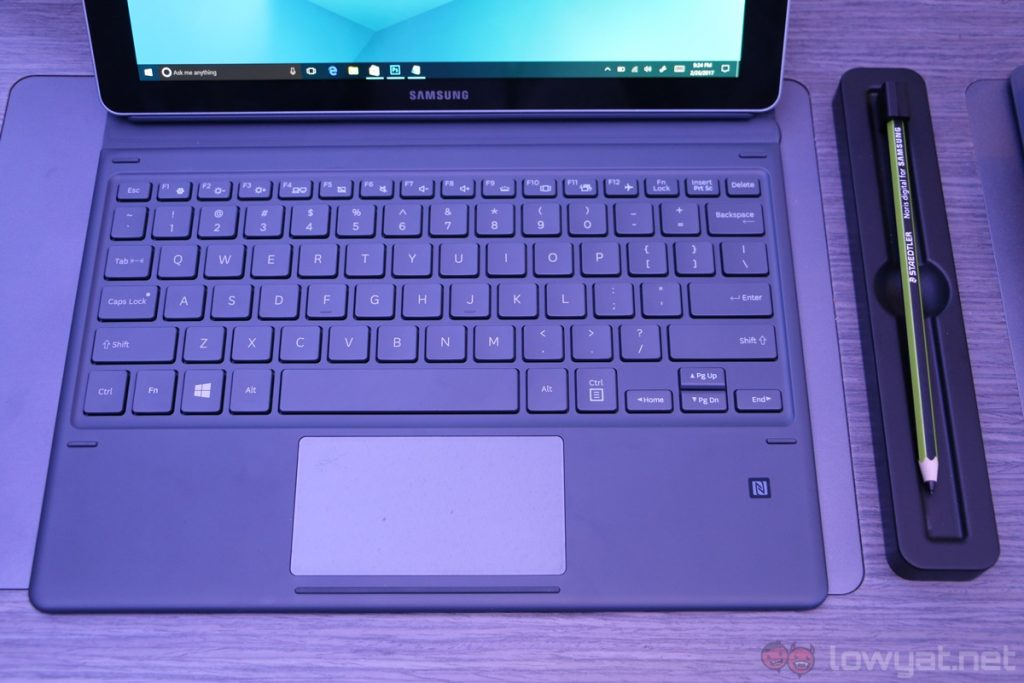 Pretty Book Cover Keyboard : Samsung galaxy book hands on another entry in the crowded
