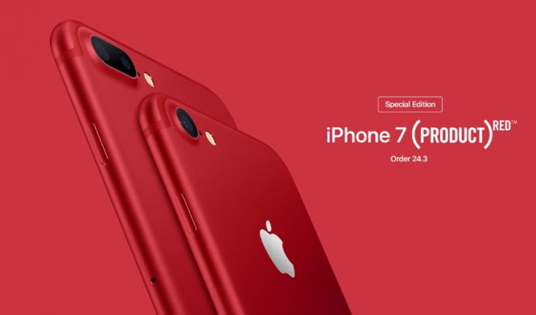 Special Edition Product Red Apple IPhone 7 Available For Order On 24 March Starts At RM 3699