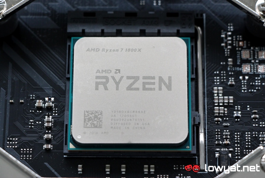 AMD Ryzen 7 1800X Review: Flagship Performance at Half the Price - Lowyat.NET