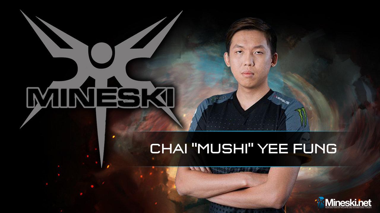 Team Mineski Dota 2 - Mushi