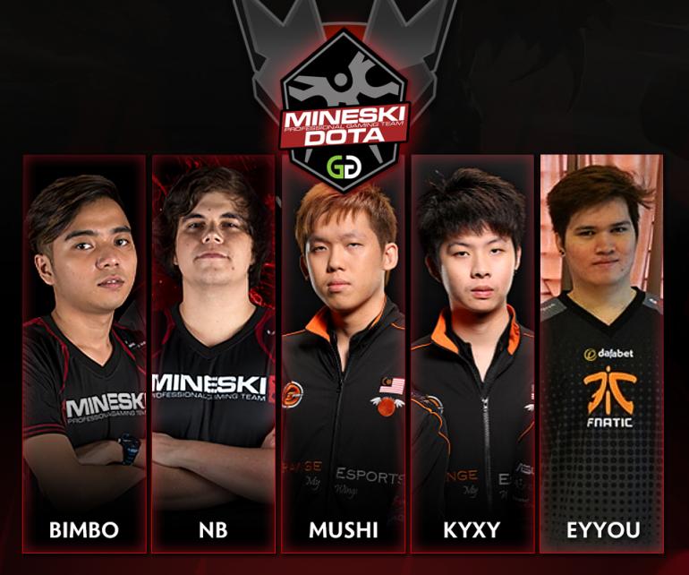 team mineski finally reveals new dota 2 roster under mushi s