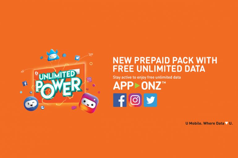 a closer look at u mobile unlimited power prepaid pack with app onz