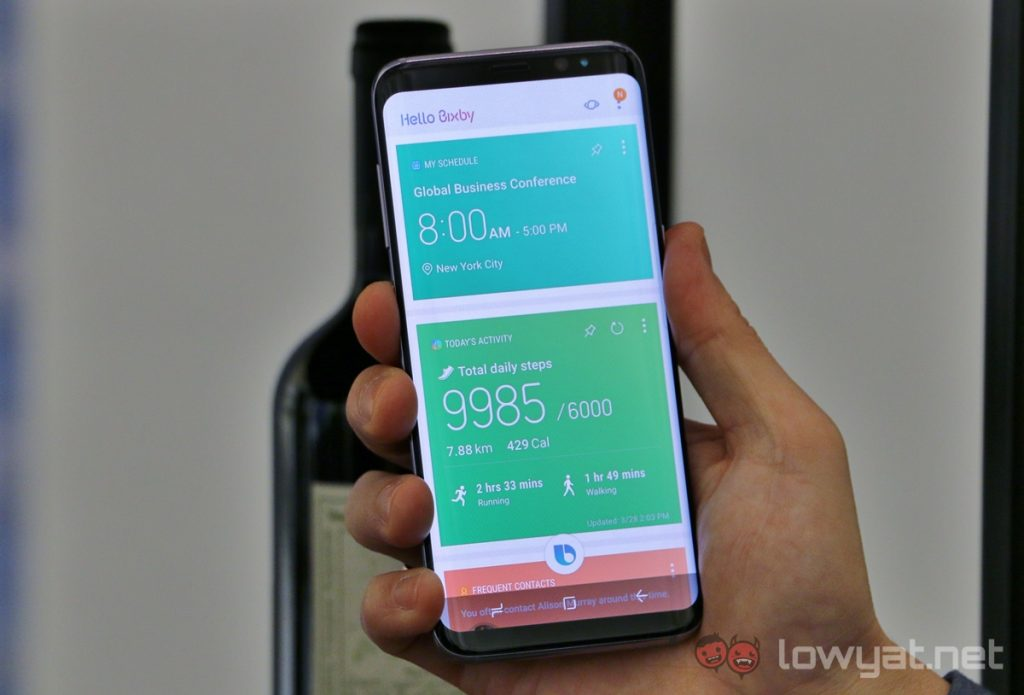 Dedicated Bixby Button on Samsung Galaxy S8 Can Launch ...