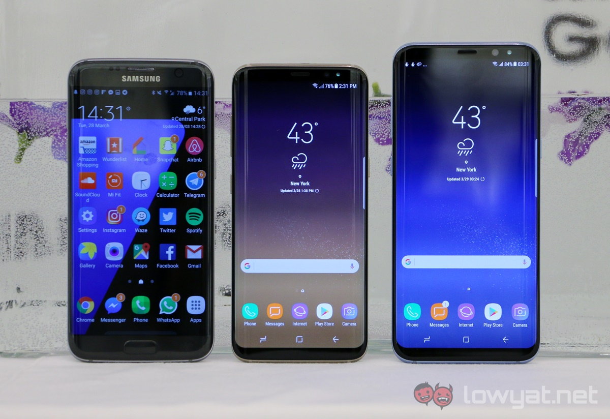 samsung galaxy s8 galaxy s8 hands on defining the future lowyat net. Black Bedroom Furniture Sets. Home Design Ideas