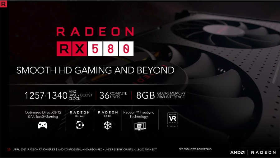 AMD Radeon RX 500 Graphics Cards Are Now Official: The Second Coming