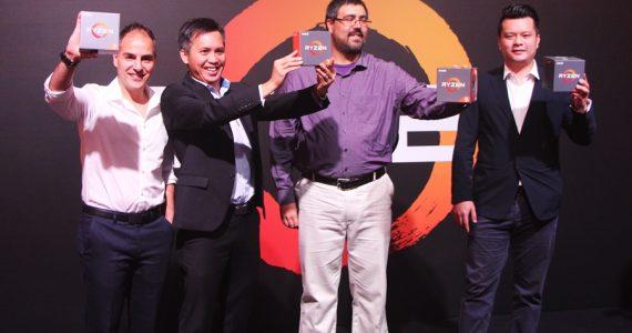 AMD Ryzen - Radeon RX 500 Malaysia Launch
