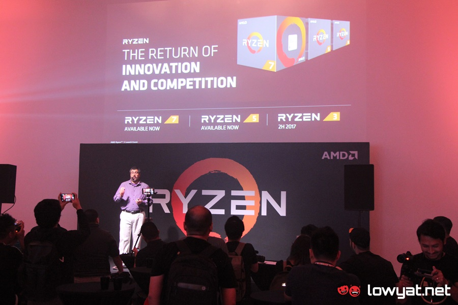 AMD Ryzen and RX500 Malaysia Launch