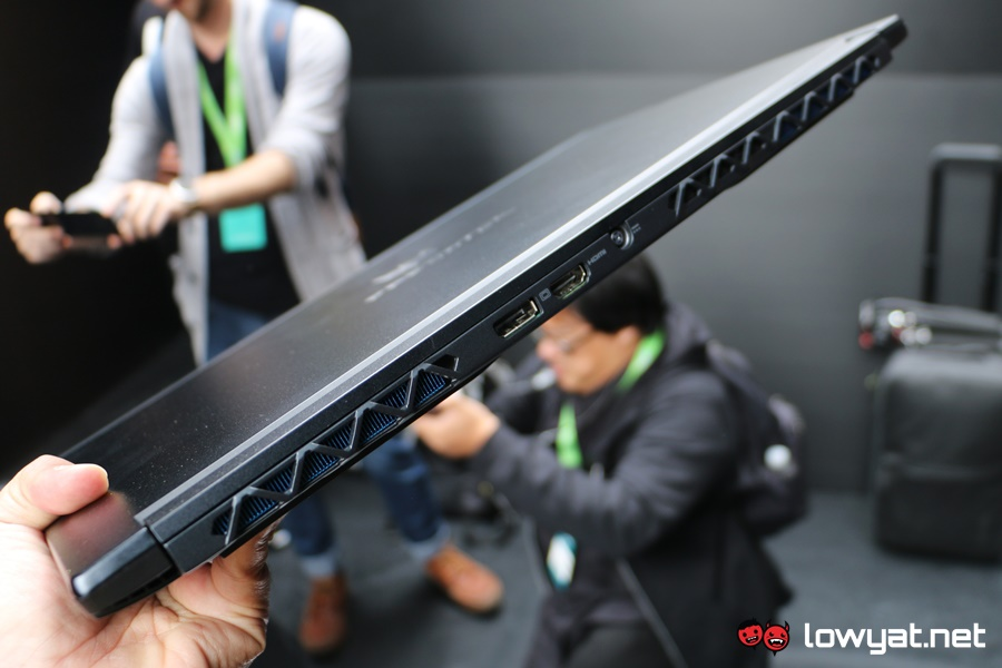 Acer Predator Triton 700 Hands On