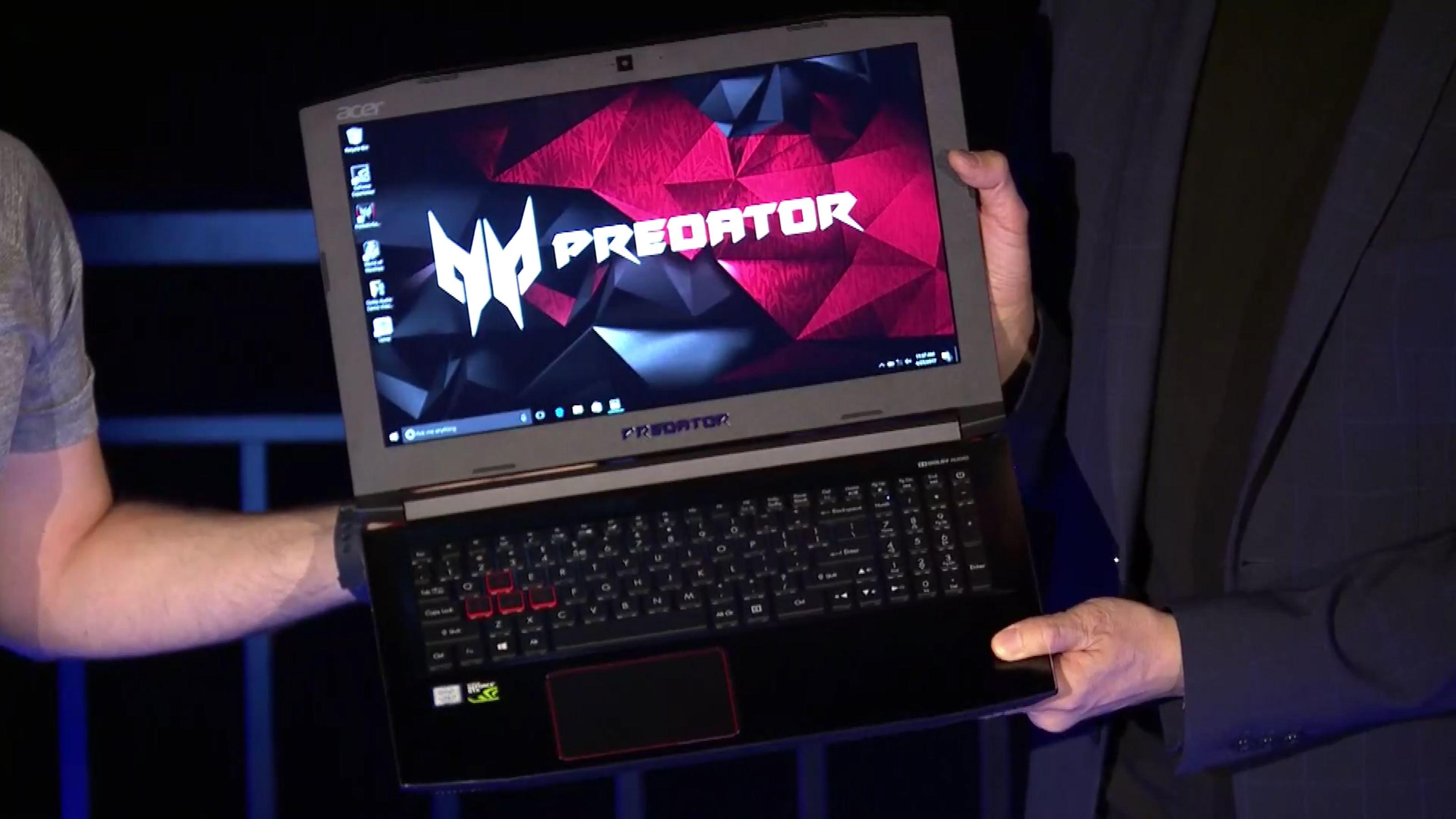 The Acer Predator Helios 300 Features GTX 1060 & AeroBlade