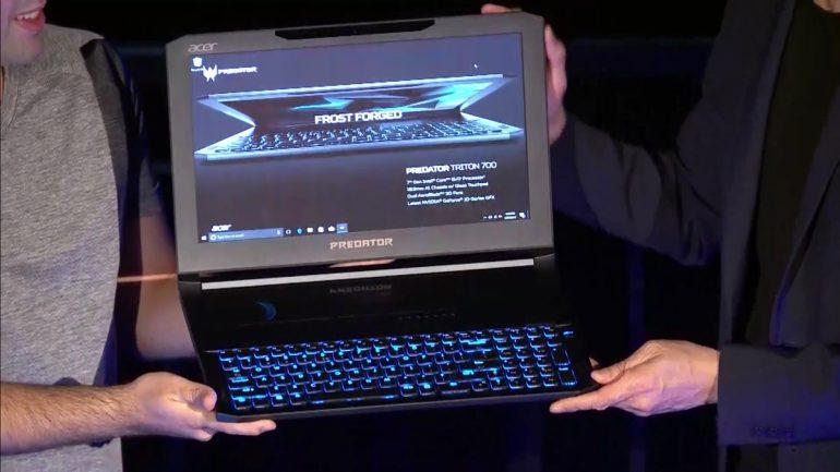 Kết quả hình ảnh cho Acer Predator Triton 700