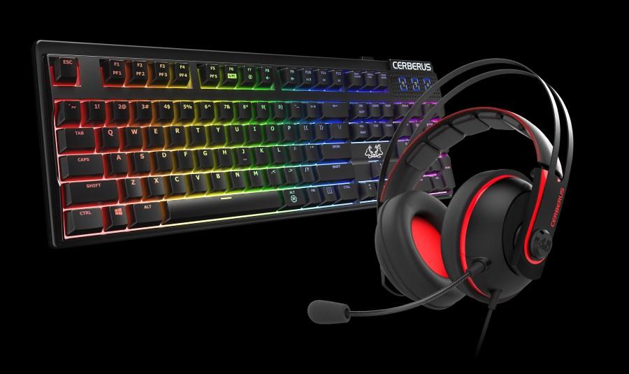 ASUS Cerberus V2 Headset // Cerberus Mech RGB Keyboard