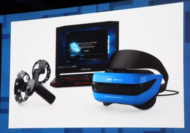 Acer Windows Mixed Reality Headset Controller Bundle