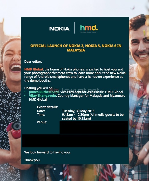 HMD Global Nokia 6, Nokia 5, Nokia 3 Malaysian Launch