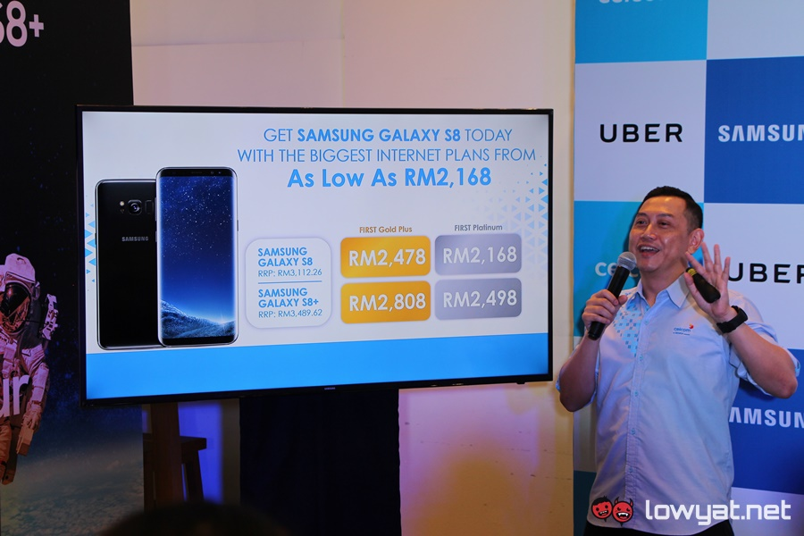 Samsung Galaxy S8 for Celcom First