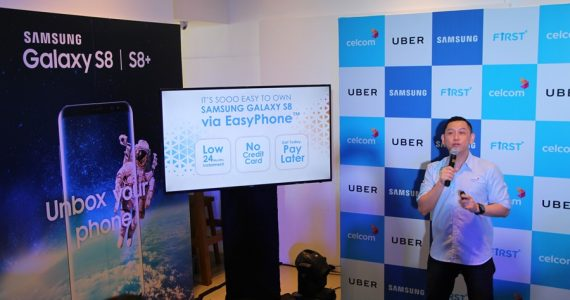 Celcom EasyPhone plan for Samsung Galaxy S8