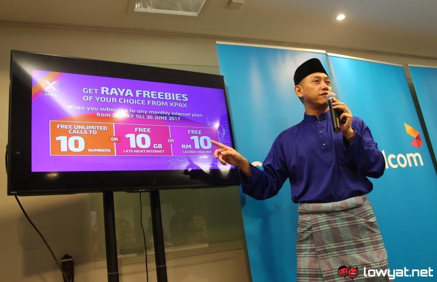 Celcom Raya Freebies 2017
