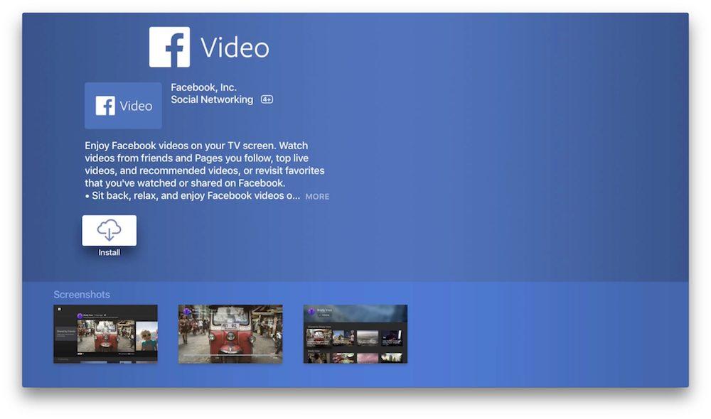 Facebook TV Shows