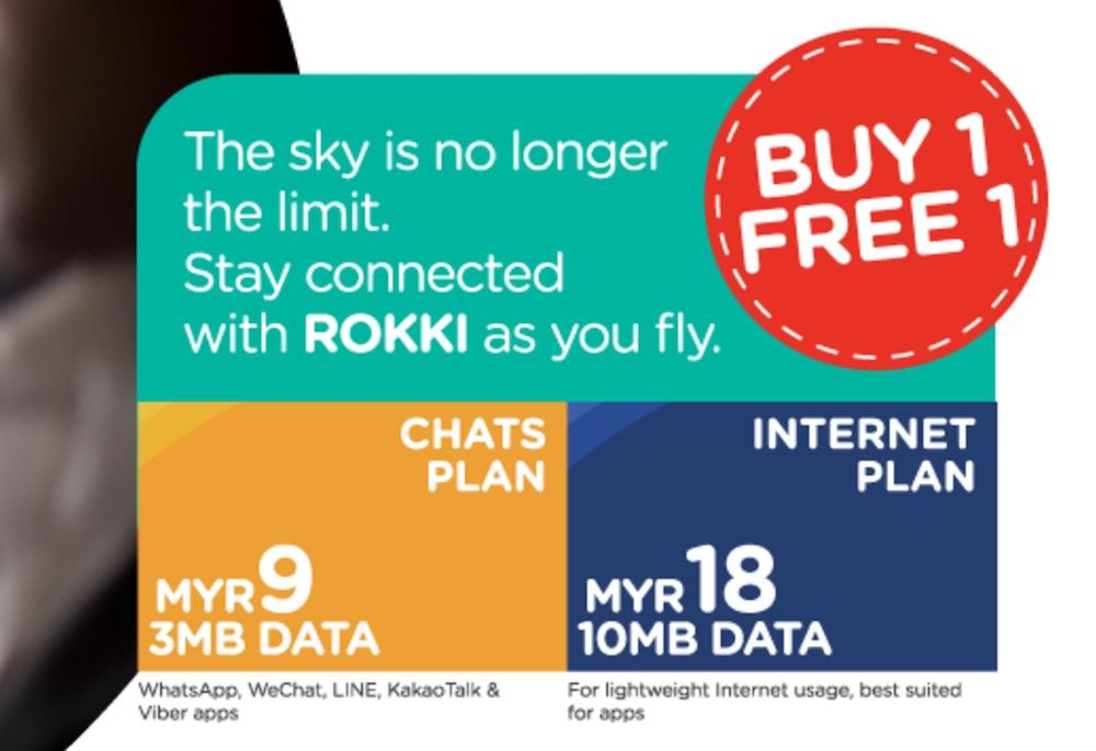 Buy 1 Free 1 Promotion for Rokki