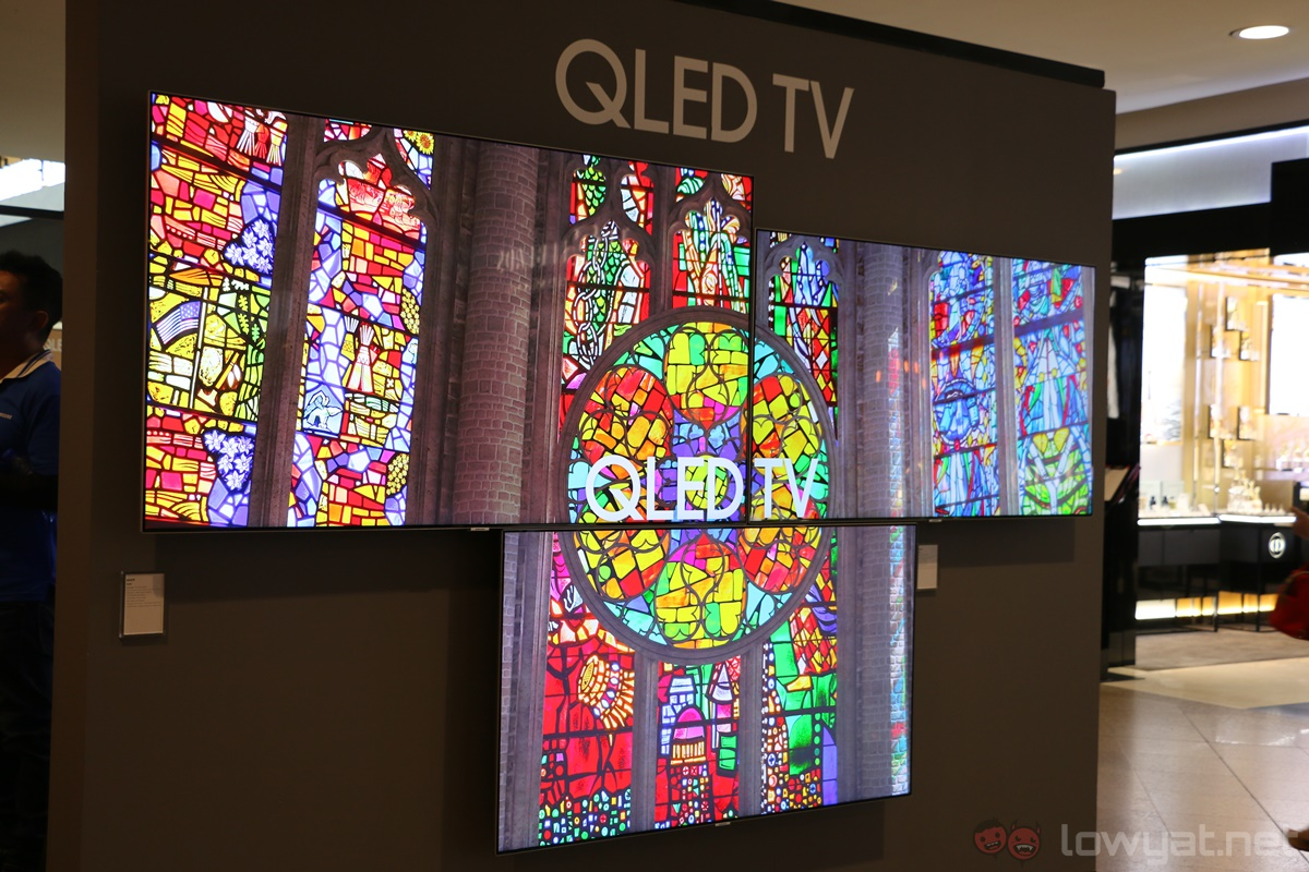 Samsung's Range of QLED TVs Now in Malaysia