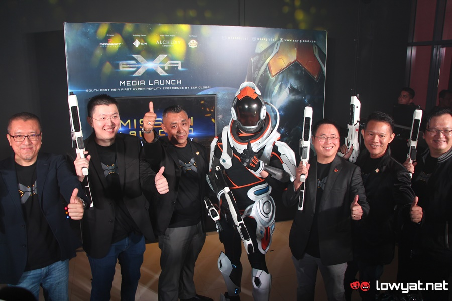 EXA Global Setiawalk Outpost Launch