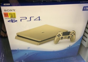 Gold PlayStation 4