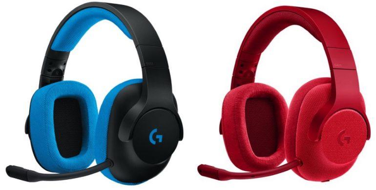 Logitech G233 Prodigy and G433 7.1 Surround Gaming Headset