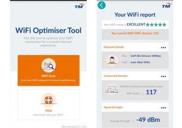 TM WiFi Optimiser Tool