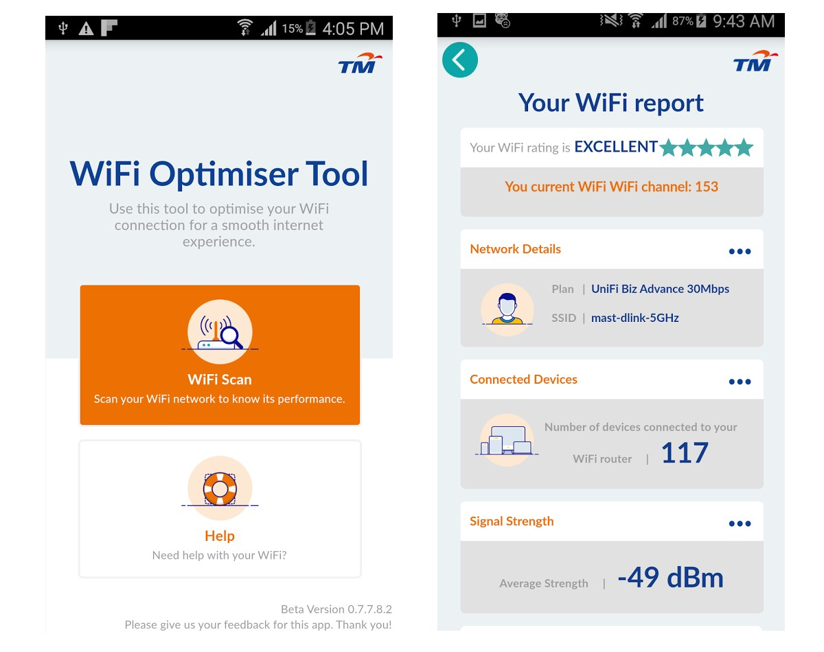 TM Releases Wi-Fi Optimizer App For UniFi and Streamyx Customers