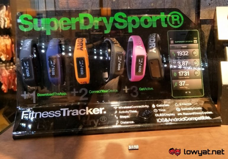Superdry Sport Fitness Tracker