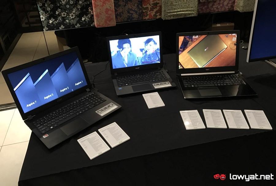2017 Acer Aspire series laptops