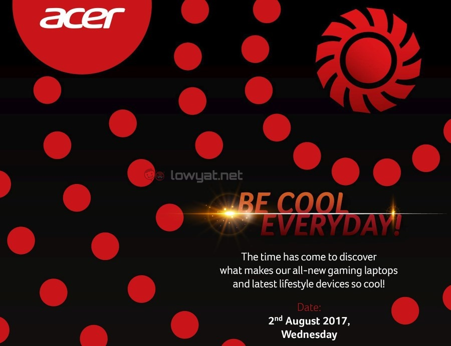 Acer Malaysia Launch Event - 2 August 2017