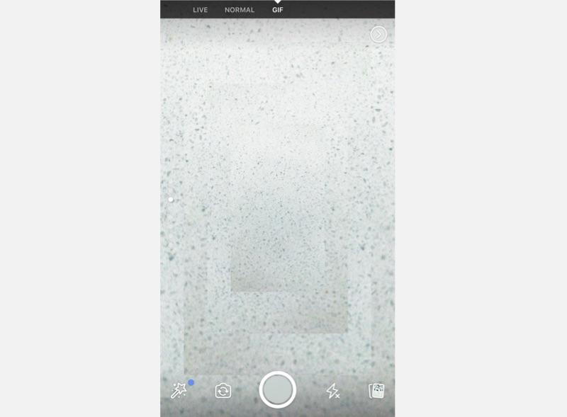 Facebook in-app camera