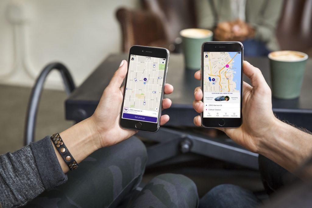 Lyft Ride Sharing App