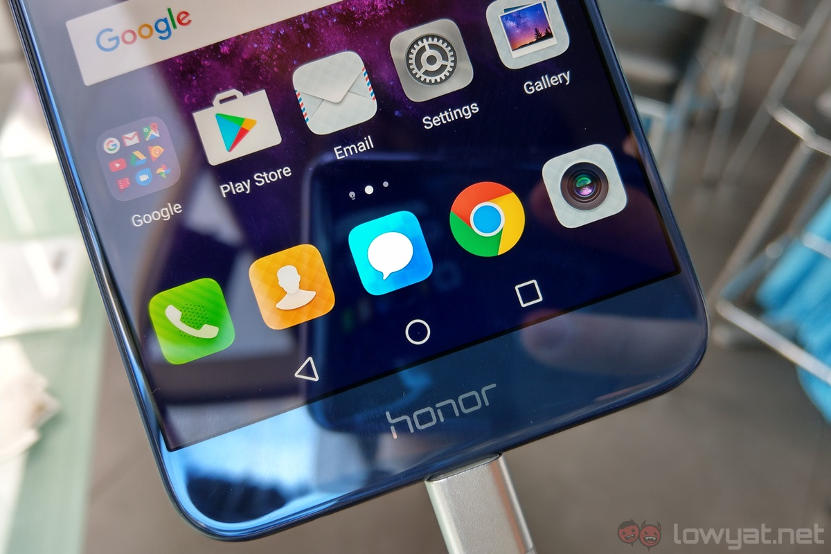 The Honor 8 Pro Can Be Seen As A Sort Of Amalgamation Between And Huawei P10 Plus It Has 8s Design Language Dual Camera System