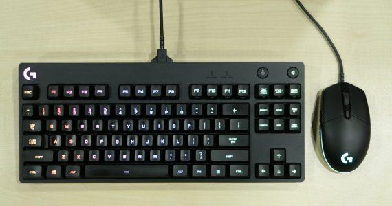 Logitech G Pro Gaming Keyboard Mouse Lightning Review Minimalist
