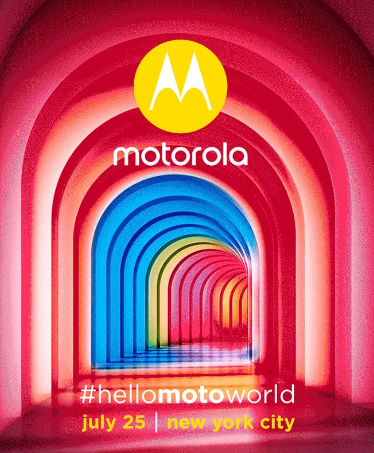 Handyblocker.to - Motorola sets next launch for July 25 in New York