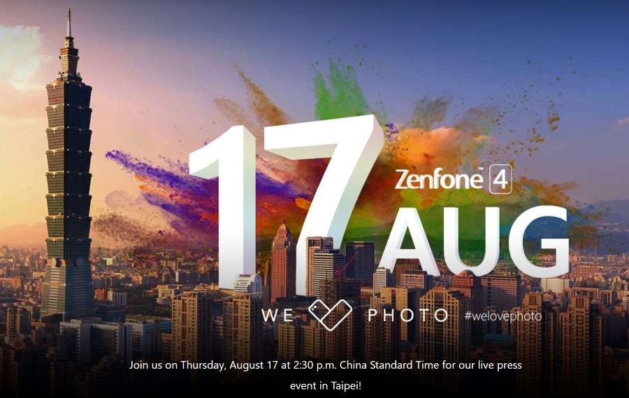ASUS ZenFone 4 Press Conference