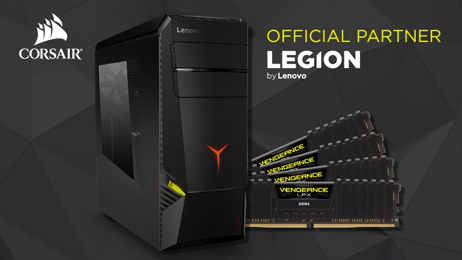 Lenovo Legion Y920 Tower with Corsair Vengeance LPX RAM